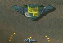 Shoot-em-up-with-an-airplane-of-the-future