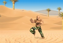 Beat-em-up-game-desert-hinderlaagbemarking